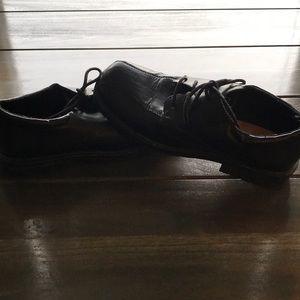 Boys George Black Dress Shoes Size 6